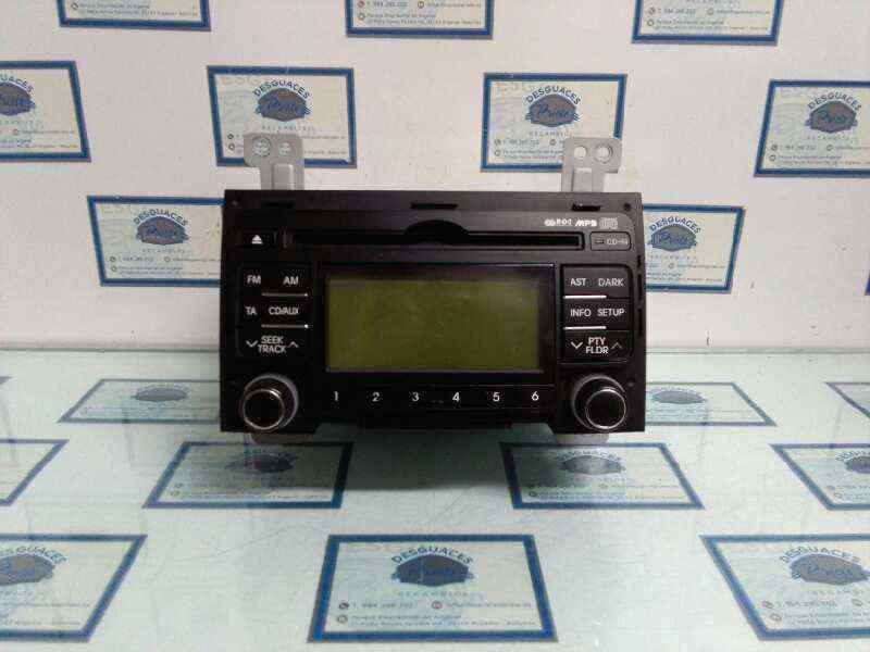 SISTEMA AUDIO / RADIO CD HYUNDAI I30 Comfort  1.6 CRDi CAT (90 CV)     07.07 - 12.12_img_0
