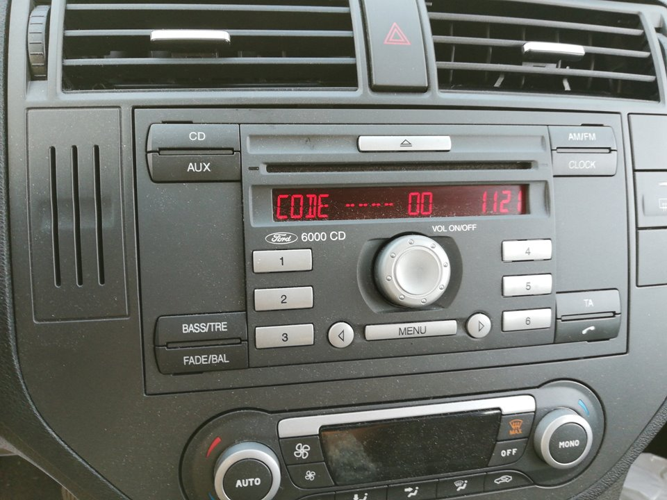 SISTEMA AUDIO / RADIO CD FORD C-MAX (CB3) Ghia  1.6 Ti-VCT CAT (116 CV) |   02.08 - 12.11_img_0