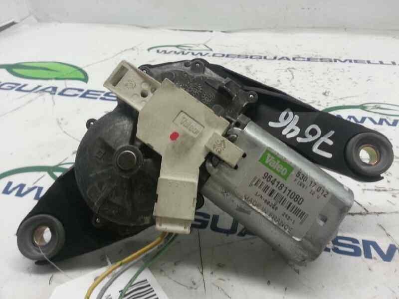 MOTOR LIMPIA TRASERO PEUGEOT 106 (S2) Max D  1.5 Diesel CAT (TUD5 / VJX) (57 CV)     0.96 - ..._img_5