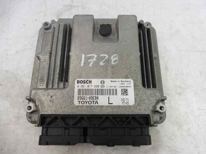 CENTRALITA MOTOR UCE TOYOTA YARIS TS  1.4 Turbodiesel CAT (90 CV) |   11.08 - 12.10_img_0