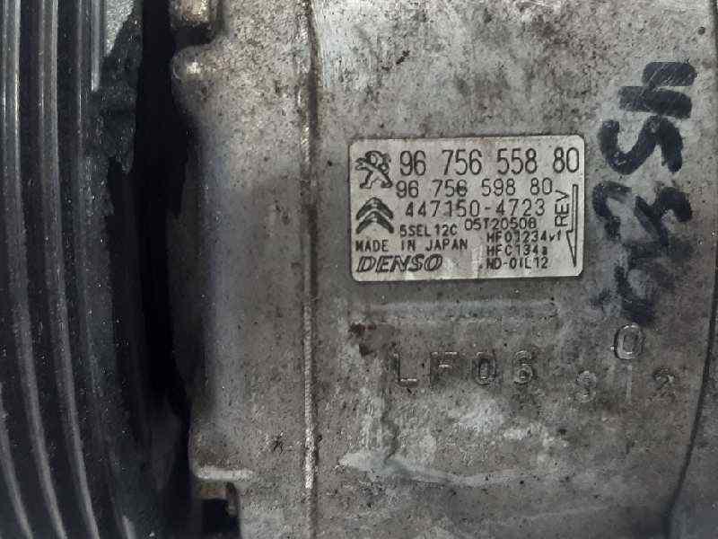 COMPRESOR AIRE ACONDICIONADO CITROEN C4 GRAND PICASSO Exclusive  2.0 Blue-HDI FAP (150 CV) |   08.13 - 12.15_img_1