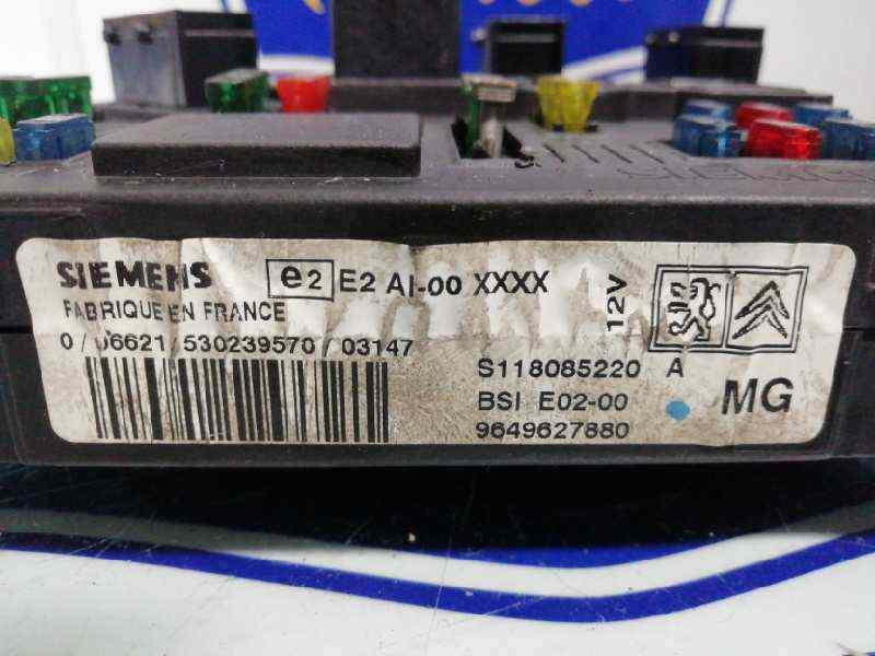 CAJA RELES / FUSIBLES PEUGEOT 206 BERLINA X-Line  1.4 HDi (68 CV)     10.02 - 12.10_img_1