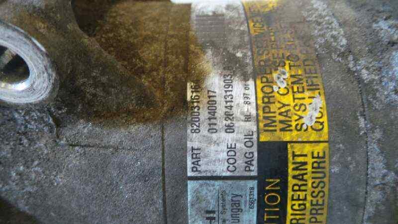 COMPRESOR AIRE ACONDICIONADO RENAULT MEGANE II BERLINA 5P Confort Authentique  1.5 dCi Diesel (101 CV) |   07.02 - 12.05_img_1