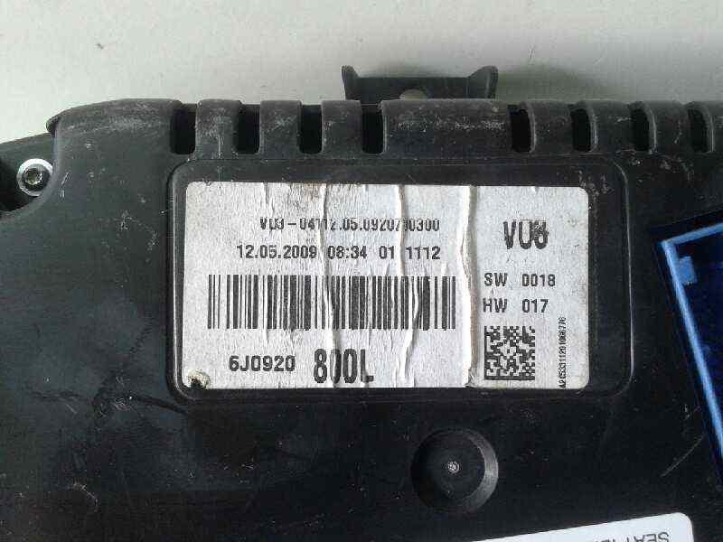 CUADRO INSTRUMENTOS SEAT IBIZA (6L1) *       0.01 - 0.09_img_4