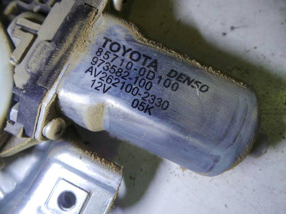 ELEVALUNAS DELANTERO DERECHO TOYOTA YARIS (KSP9/SCP9/NLP9) Básico  1.4 Turbodiesel CAT (90 CV) |   08.05 - 12.08_img_3