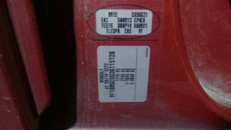RENAULT MEGANE II BERLINA 5P Confort Dynamique  1.5 dCi Diesel (106 CV) |   06.05 - 12.09_img_3