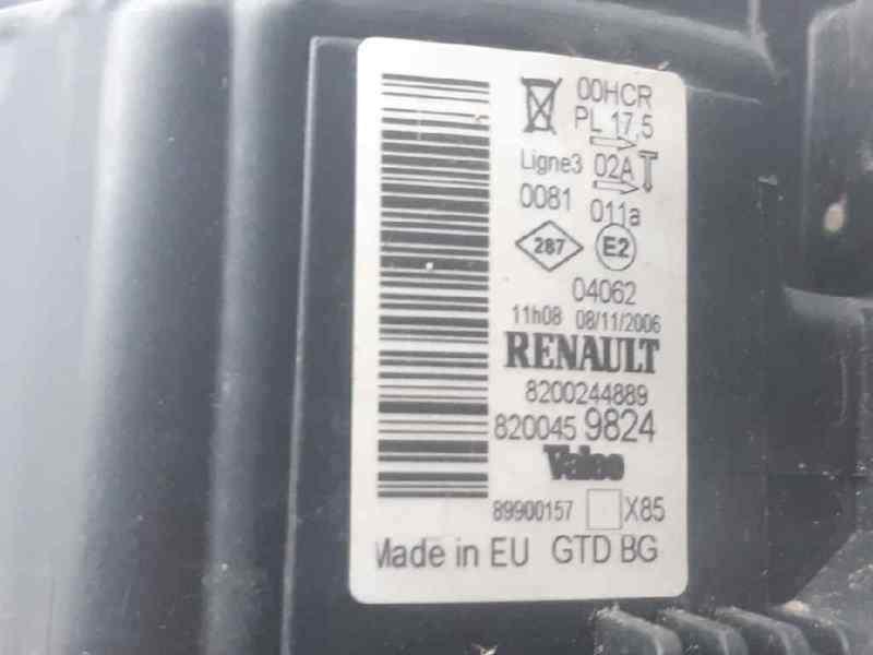 FARO IZQUIERDO RENAULT CLIO III Confort Dynamique  1.4 16V (98 CV)     09.05 - 12.06_img_1