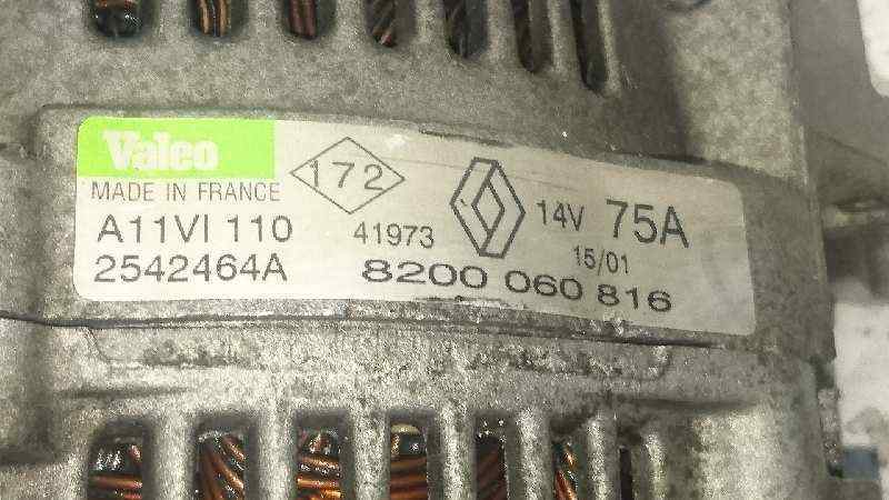 ALTERNADOR RENAULT CLIO II FASE II (B/CB0) Authentique  1.2  (58 CV) |   06.01 - 12.08_img_1