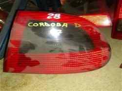 piloto trasero derecho seat cordoba berlina (6k2) dream (1997->)  1.9 diesel cat (1y) (64 cv) 1996-1996
