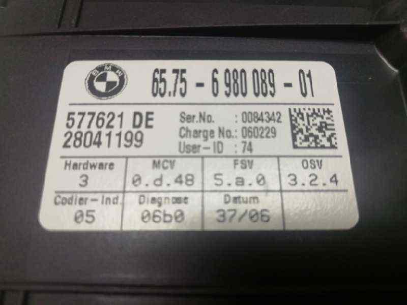 MODULO ELECTRONICO BMW SERIE 5 BERLINA (E60) 525d  2.5 24V Turbodiesel CAT (177 CV) |   03.04 - 12.07_img_2