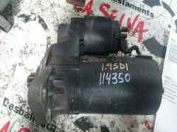 motor arranque seat leon (1m1) stella  1.9 sdi (68 cv) 1999-2004 020911023P