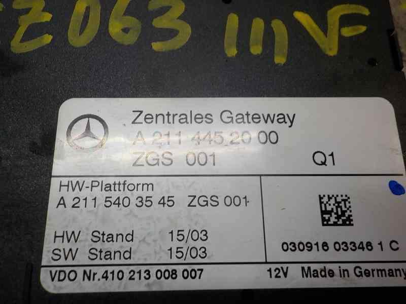 MODULO ELECTRONICO MERCEDES CLASE E (W211) BERLINA E 270 CDI (211.016)  2.7 CDI CAT (177 CV) |   01.02 - 12.05_img_1