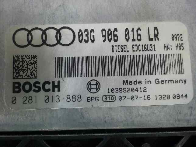 CENTRALITA MOTOR UCE AUDI A4 BERLINA (8E) 2.0 TDI 16V (103kW)   (140 CV)     11.04 - 12.07_img_0