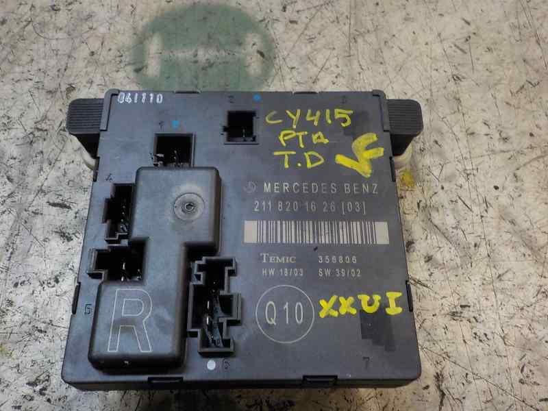 MODULO ELECTRONICO MERCEDES CLASE E (W211) BERLINA E 350 (211.056)  3.5 V6 CAT (272 CV)     10.04 - 12.09_img_0