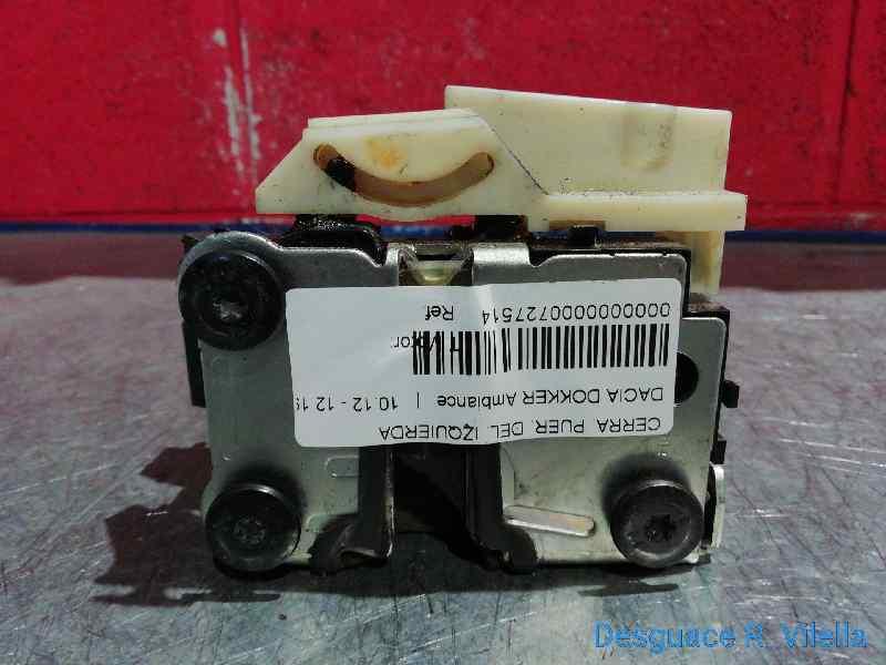 CERRADURA PUERTA DELANTERA IZQUIERDA  DACIA DOKKER Ambiance  1.5 dCi Diesel FAP CAT (75 CV) |   10.12 - 12.15_img_2