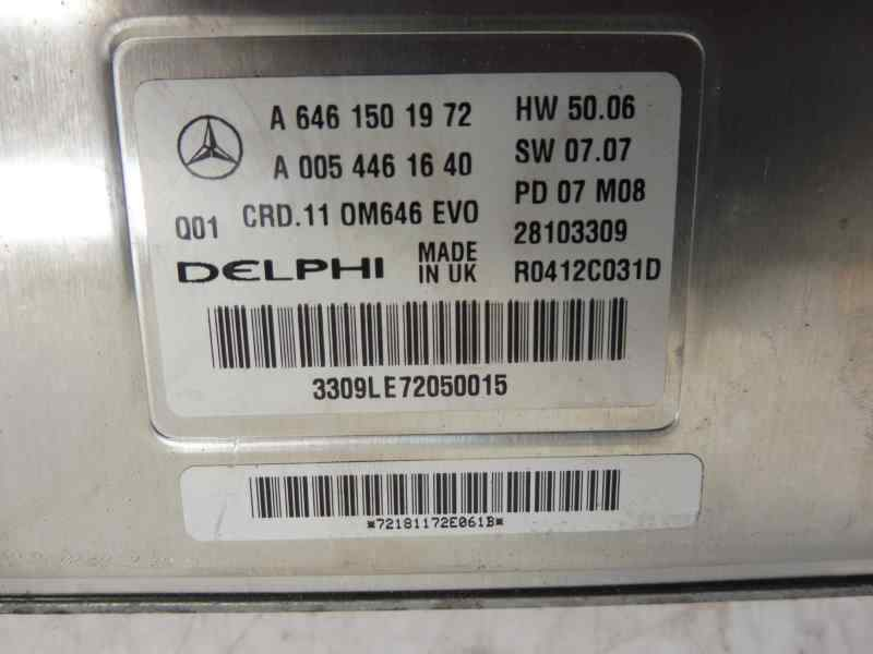 CENTRALITA MOTOR UCE MERCEDES CLASE C (W204) BERLINA C 220 CDI (204.008)  2.2 CDI CAT (170 CV)     01.07 - 12.09_img_2