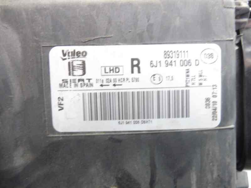 FARO DERECHO SEAT IBIZA (6J5) Stylance / Style  1.4 16V (86 CV) |   02.08 - 12.13_img_3