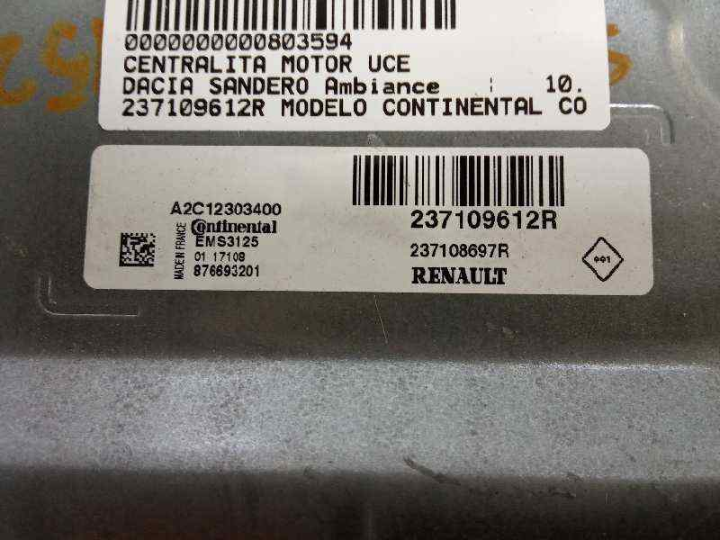 CENTRALITA MOTOR UCE DACIA SANDERO Ambiance  1.2 16V CAT (75 CV) |   10.12 - 12.15_img_2