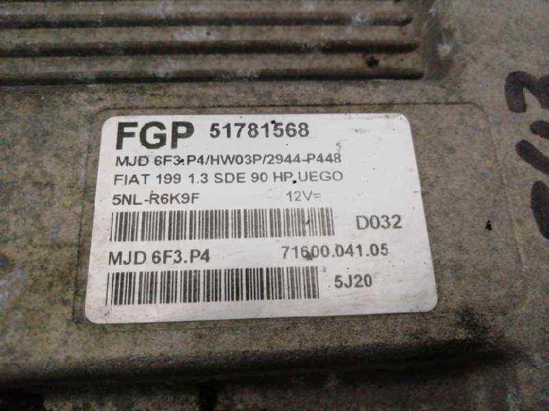CENTRALITA MOTOR UCE FIAT GRANDE PUNTO (199) 1.3 16V Multijet Dynamic (66kW)   (90 CV) |   09.05 - 12.07_img_1