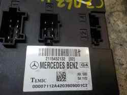 MODULO ELECTRONICO MERCEDES CLASE E (W211) BERLINA E 270 CDI (211.016)  2.7 CDI CAT (177 CV) |   01.02 - 12.05_mini_1