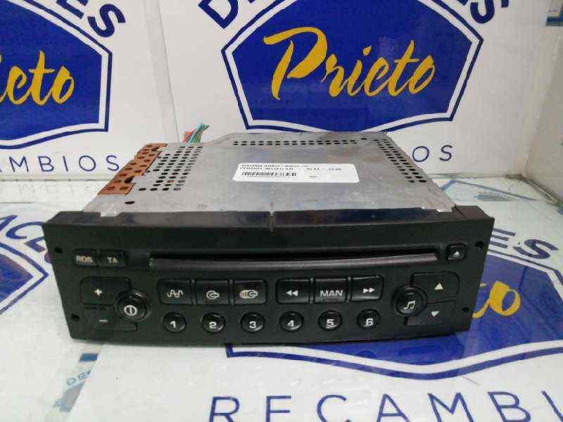 SISTEMA AUDIO / RADIO CD PEUGEOT 307 (S1) XSI  2.0 16V HDi FAP CAT (RHR / DW10BTED4) (136 CV)     05.04 - 12.05_img_0