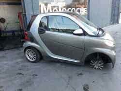 smart coupe fortwo fun mhd (52 kw)  1.0 cat (71 cv) 2009-2009 3B21 WME4513801K