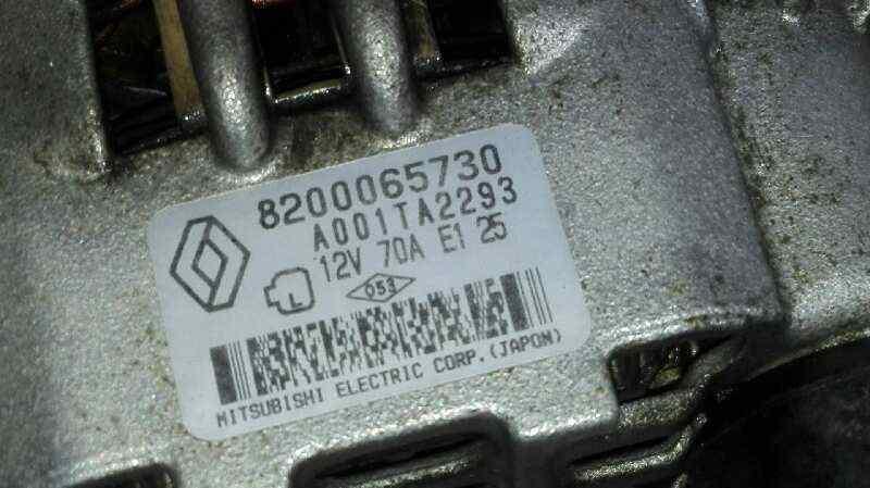 ALTERNADOR RENAULT CLIO II FASE II (B/CB0) Authentique  1.2  (58 CV)     06.01 - 12.08_img_1