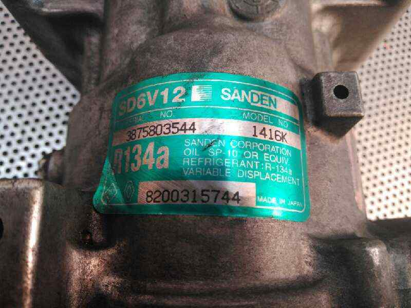 COMPRESOR AIRE ACONDICIONADO NISSAN KUBISTAR (X76) Premium (L1)  1.5 dCi Turbodiesel CAT (65 CV) |   09.05 - ..._img_1