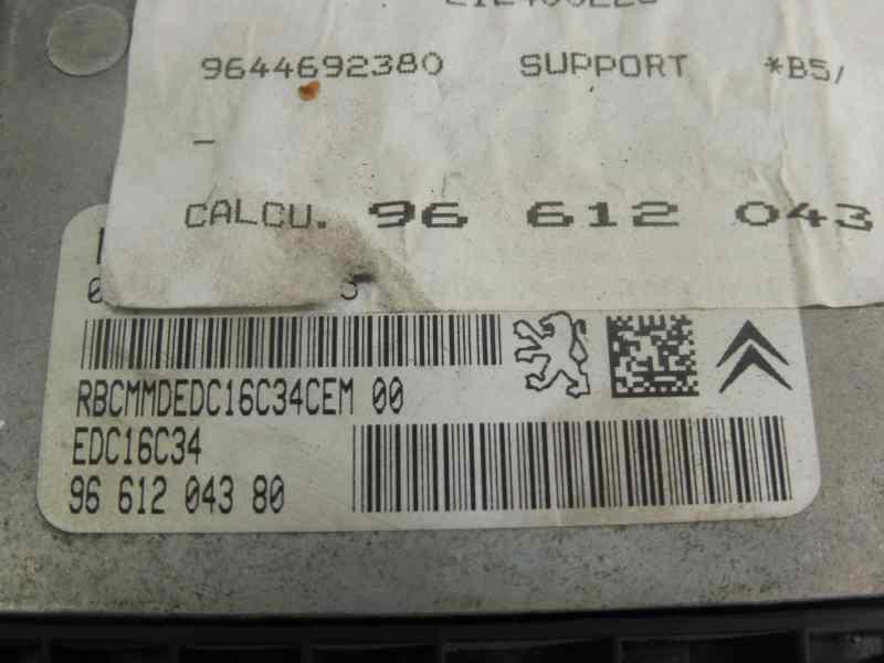 CENTRALITA MOTOR UCE CITROEN C4 BERLINA VTR Plus  1.6 HDi CAT (9HY / DV6TED4) (109 CV) |   06.04 - 12.08_img_1
