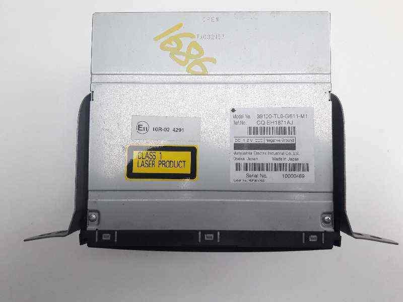 SISTEMA AUDIO / RADIO CD HONDA ACCORD TOURER (CW) Luxury  2.2 DTEC CAT (150 CV) |   09.08 - 12.15_img_1