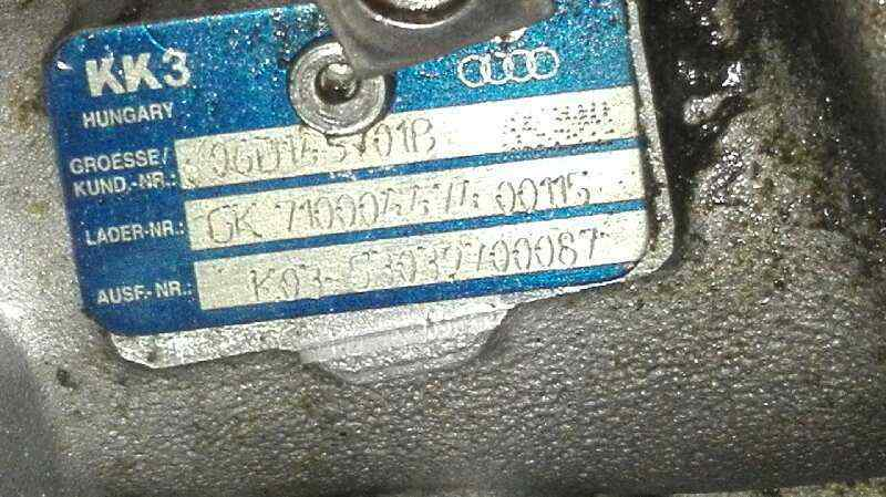 TURBOCOMPRESOR AUDI A4 BERLINA (8E) 2.0 TFSI Quattro (147kW)   (200 CV) |   11.04 - 12.07_img_2