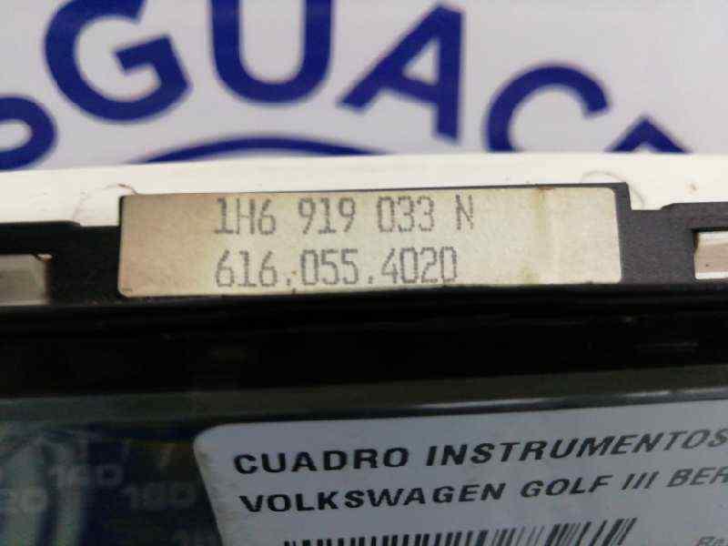 CUADRO INSTRUMENTOS VOLKSWAGEN GOLF III BERLINA (1H1) GTI 16V  2.0 16V (150 CV) |   08.92 - 12.98_img_2