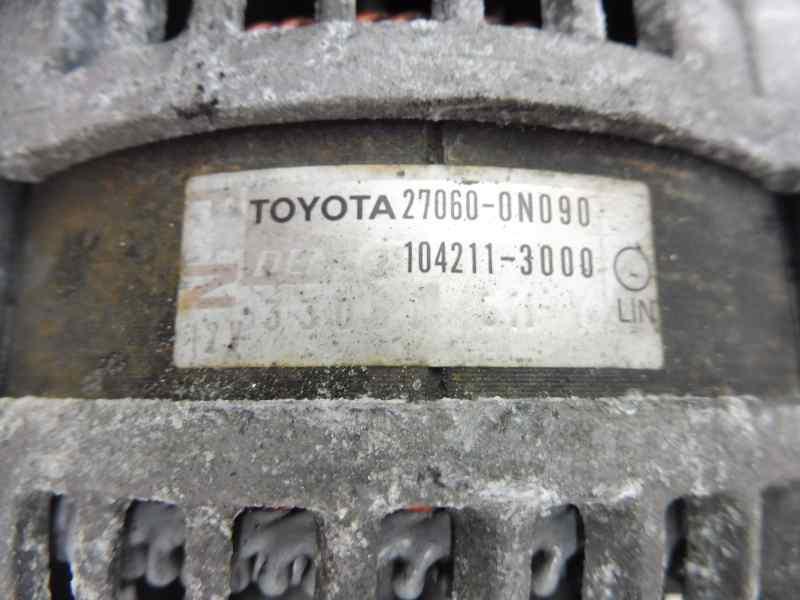 ALTERNADOR TOYOTA YARIS TS  1.4 Turbodiesel CAT (90 CV) |   11.08 - 12.10_img_1