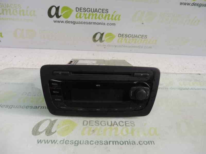 SISTEMA AUDIO / RADIO CD SEAT IBIZA (6J5) Stylance / Style  1.4 16V (86 CV) |   02.08 - 12.13_img_0