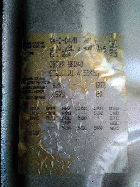 ALETA DELANTERA IZQUIERDA SEAT IBIZA (6L1) Stella  1.4 16V (75 CV) |   04.02 - 12.04_img_3