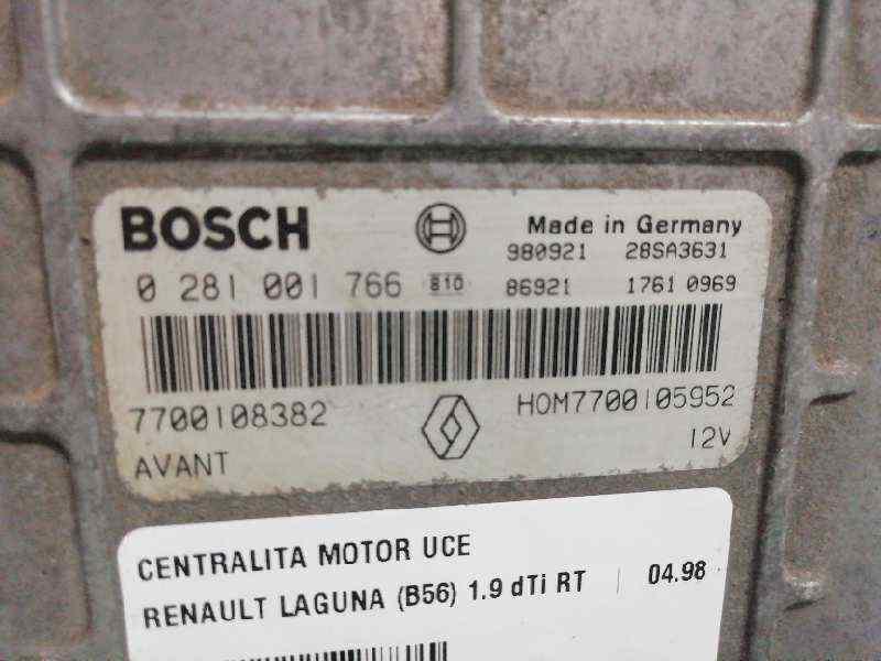 CENTRALITA MOTOR UCE RENAULT LAGUNA (B56) 1.9 dTi RT   (98 CV) |   04.98 - 12.01_img_2