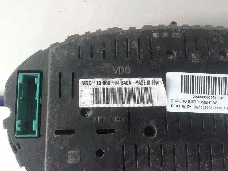 CUADRO INSTRUMENTOS SEAT IBIZA (6L1) 1.9 TDI   (101 CV) |   0.02 - ..._img_1