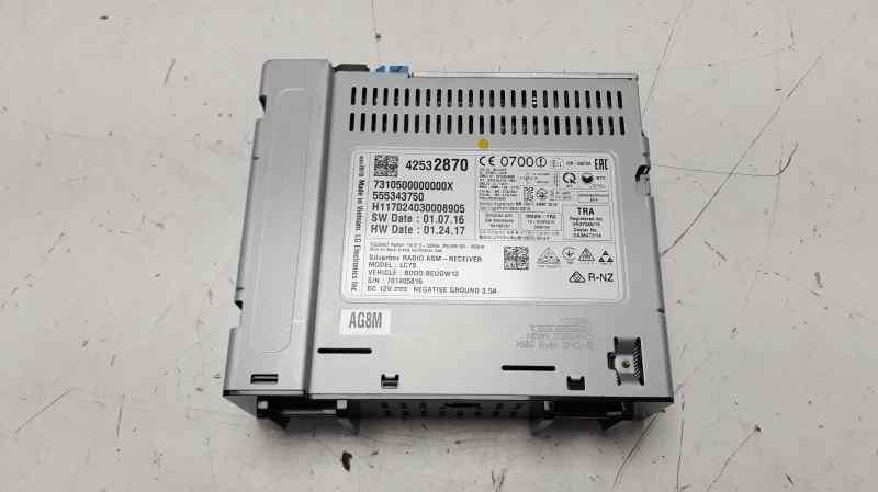 SISTEMA AUDIO / RADIO CD OPEL ASTRA K LIM. 5TÜRIG (09.2015->) Selective Start/Stop  1.4 16V SIDI Turbo (125 CV) |   ..._img_2