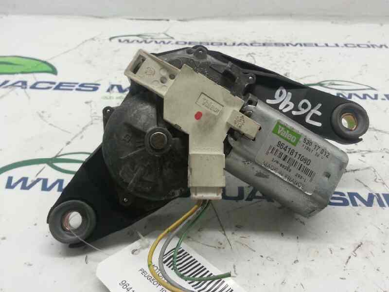 MOTOR LIMPIA TRASERO PEUGEOT 106 (S2) Max D  1.5 Diesel CAT (TUD5 / VJX) (57 CV)     0.96 - ..._img_0