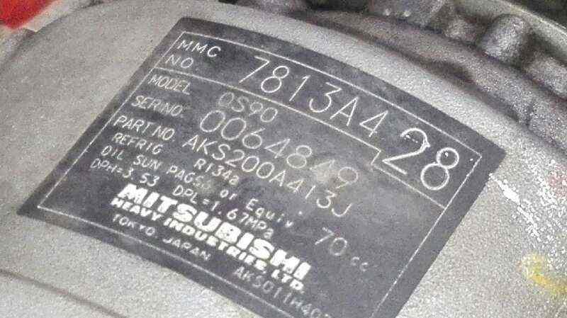 COMPRESOR AIRE ACONDICIONADO CITROEN C4 AIRCROSS Exclusive  1.8 HDi FAP (150 CV)     04.12 - ..._img_2