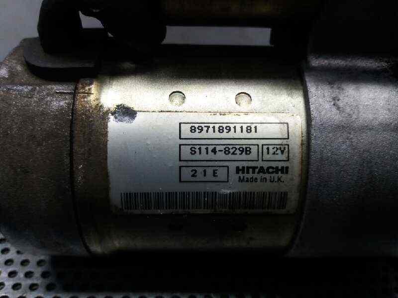 MOTOR ARRANQUE OPEL ASTRA G BERLINA Club  1.7 16V DTI CAT (Y 17 DT / LR6) (75 CV) |   12.99 - 12.03_img_1