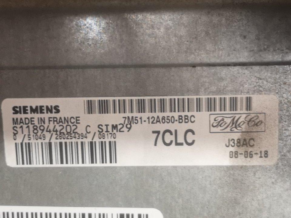 CENTRALITA MOTOR UCE FORD C-MAX (CB3) Ghia  1.6 Ti-VCT CAT (116 CV) |   02.08 - 12.11_img_1
