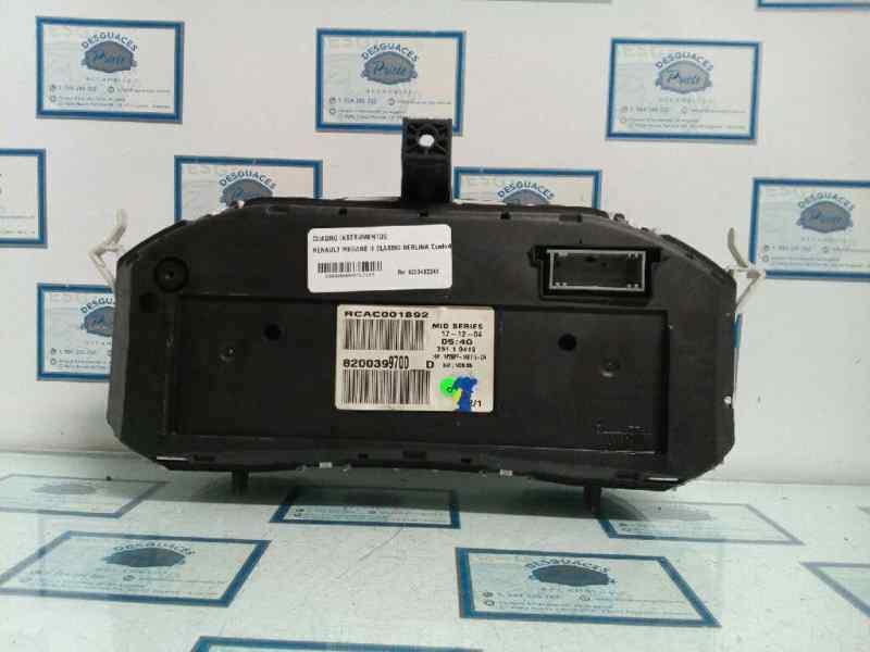 CUADRO INSTRUMENTOS RENAULT MEGANE II CLASSIC BERLINA Confort Dynamique  1.9 dCi Diesel (120 CV)     12.03 - 12.05_img_2
