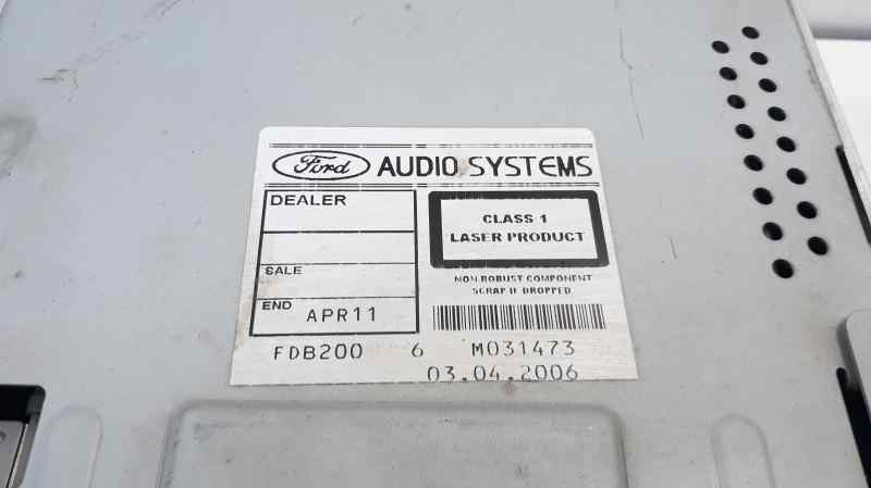 SISTEMA AUDIO / RADIO CD FORD FOCUS BERLINA (CAP) Trend  1.6 TDCi CAT (90 CV) |   01.05 - 12.07_img_1