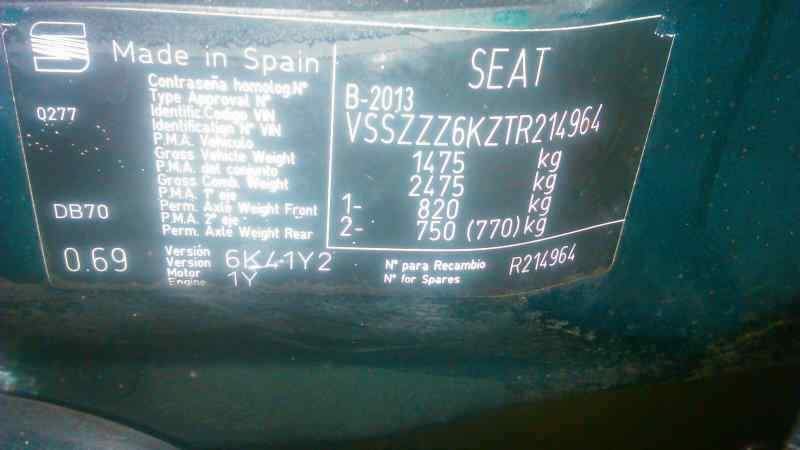 SEAT IBIZA (6K) CL  1.9 Diesel (1Y) (68 CV) |   09.95 - 12.96_img_0