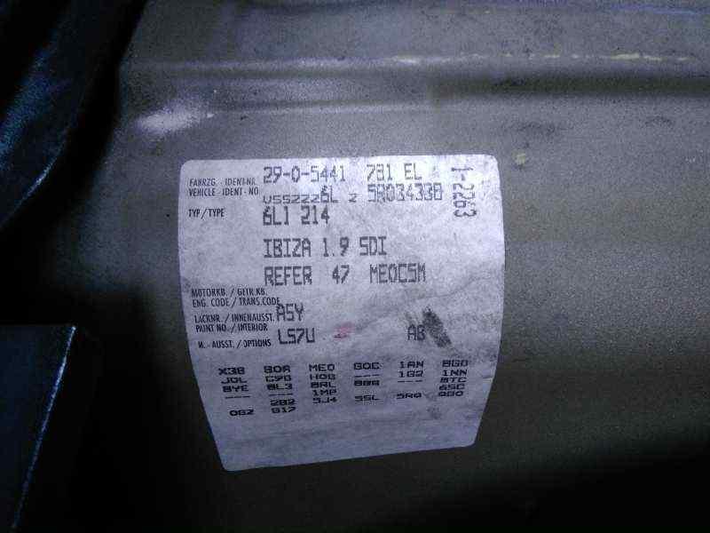 SEAT IBIZA (6L1) Signo  1.9 SDI (64 CV) |   0.02 - ..._img_1