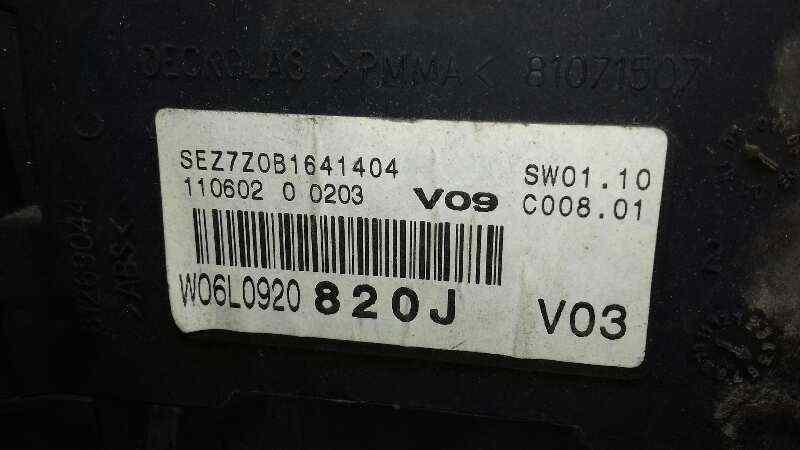 CUADRO INSTRUMENTOS SEAT IBIZA (6L1) *   |   0.01 - 0.09_img_1