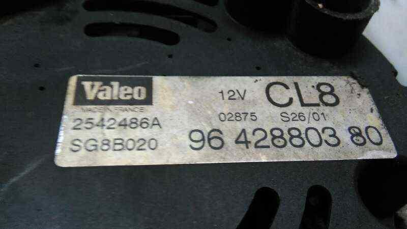 ALTERNADOR PEUGEOT PARTNER (S1) Combispace  1.9 Diesel (69 CV) |   07.96 - 12.02_img_3
