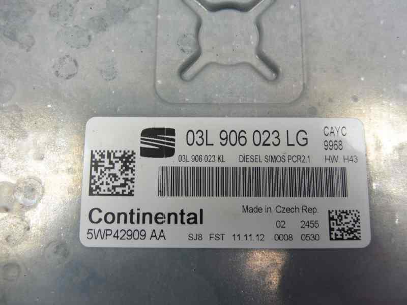 CENTRALITA MOTOR UCE SEAT ALTEA (5P1) Reference Copa Ecomotive  1.6 TDI (105 CV) |   12.10 - 12.13_img_3
