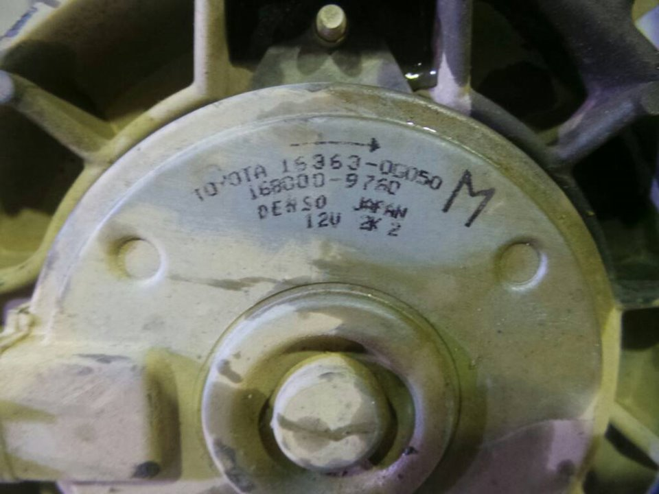 ELECTROVENTILADOR TOYOTA YARIS (KSP9/SCP9/NLP9) Básico  1.4 Turbodiesel CAT (90 CV) |   08.05 - 12.08_img_1